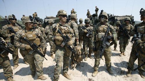 30 000 amerikanska soldater i landet