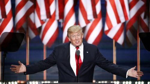 Republikanernas presidentkandidat Donald Trump den 21 Juli 2016. e79d241f9d4f8