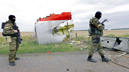 Separatister hade luftvarnsrobotar