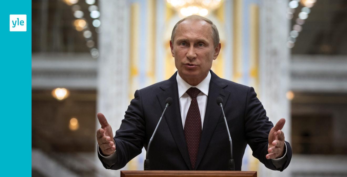 Putin vill ha vapenvila