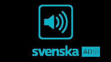 Symbolbild av en högtalare on under den texten Svenska AD.