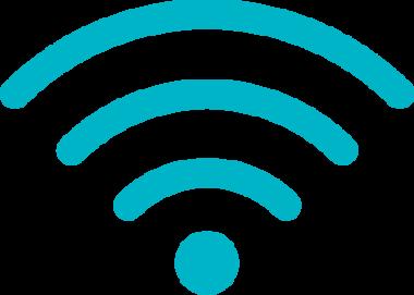 Symbolbild på en wifi-symbol.