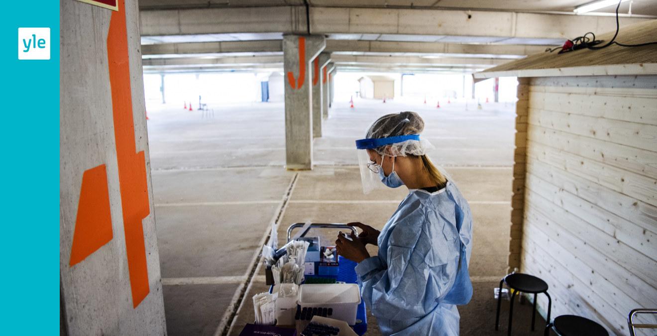Image THL meddelar om 360 nya fall av coronasmitta