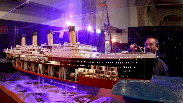 Titanic Pienoismalli