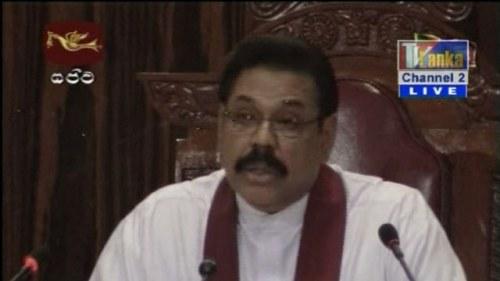 Sri lankas regering funderar pa vapenvila