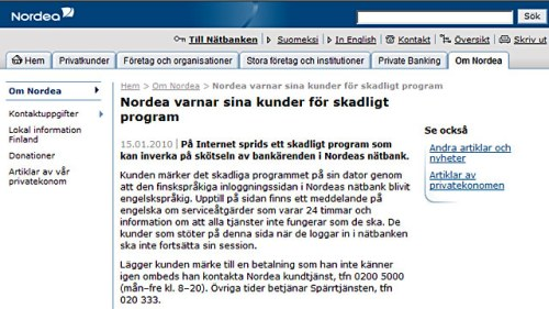 nordea företag kontakt