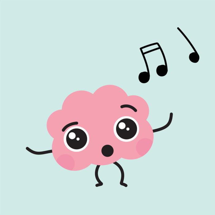 aivohahmo laulaa
