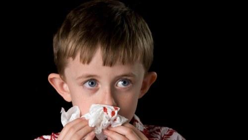näsblod och stress