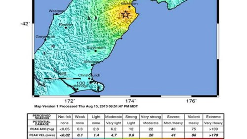 Kraftigt jordskalv vid gransen 3