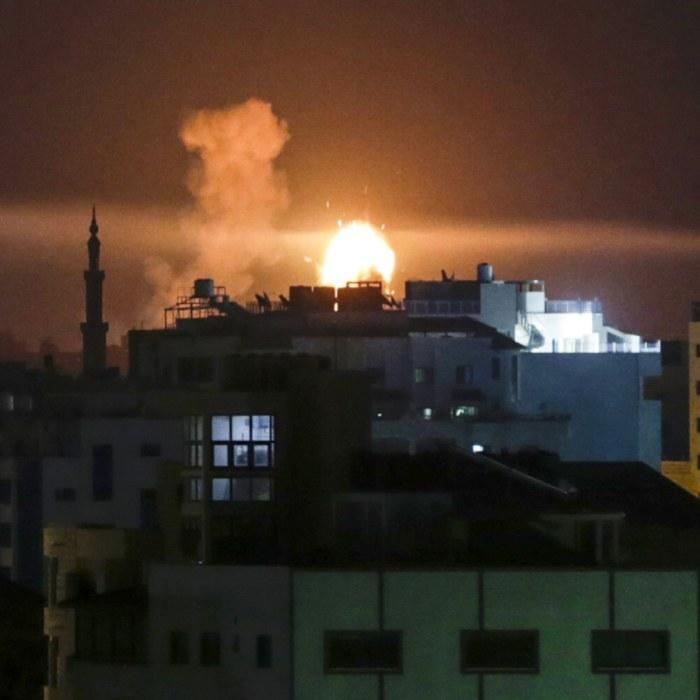 Israeliska bombningar hindrar livsmedel att na gaza