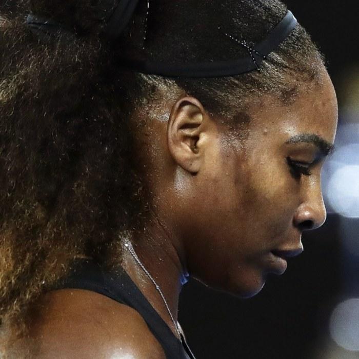 Serena williams overlagsen i final