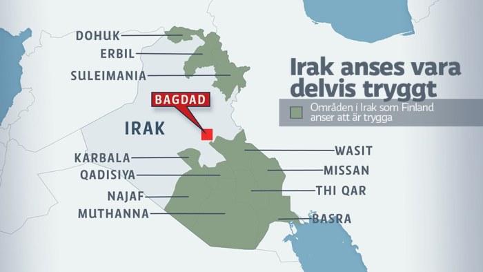 Beredskap infor irakisk attack