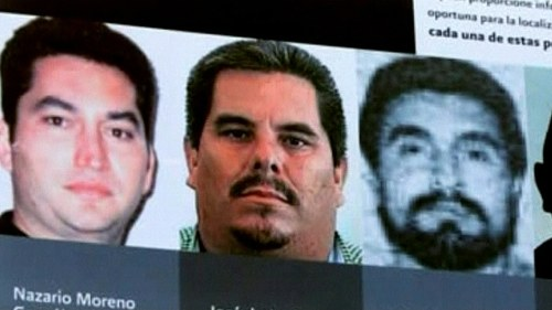 Knarkkung greps i mexiko