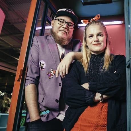 YleX Viikonloppu: Womma ja Aino