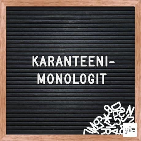 Karanteenimonologit