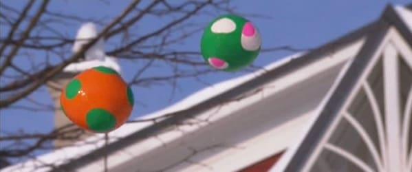 Jongleringsbollar av ballonger