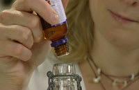 Tillsätt valfria eteriska oljor