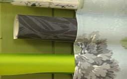 Förvaring av presentpappersrullar och tillbehör, detalj