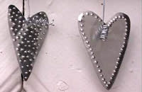 Gör mönster på hjärtan