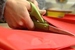 Lee klipper till silkespapper