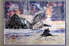 Målning av Fred Negendanck
