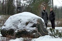 Senvinter i Billnäs