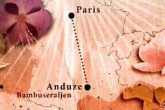 La Bambouseraie på kartan