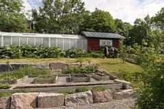 Markus trädgård i Kimito