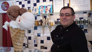 Jaco Neering och hans delikata glass