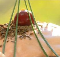 Chokladmuffins med apelsinglasyr