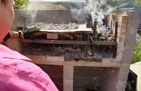 Rejäl argentinsk grill