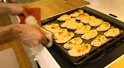 Empanadas färdiga att ätas