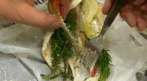 Testet gav också god fisk