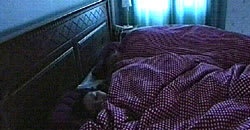 Patrik och Linda sover lugnt och tryggt