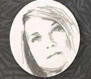 Runt porträtt nr. 2