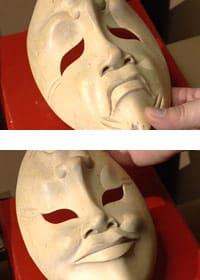 Grekisk teatermask