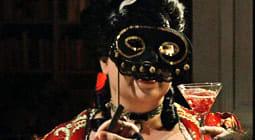 Elisabeth på maskeradbal