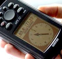En GPS behövs för att navigera enligt koordinater