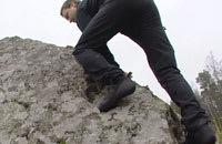 Teknik är A och O i bouldering