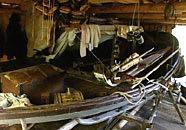 Sin säljaktsbåt har Evald Geust byggt själv