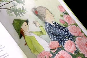 Bild ur Anna Gullichsens bok Saga Blom