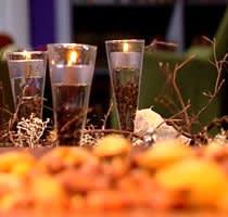 Adventskransen lyser upp vintermörkret