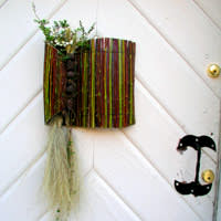 En alternativ version av dörrdekorationen