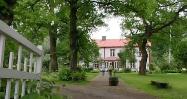 Författaren Anna Gullichsens trädgård är som hämtad ur böckerna om Saga Blom