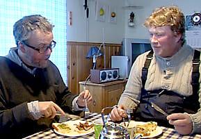 Stefan Jansson och Tom Blom