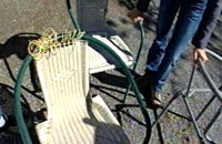 Söndrig stol