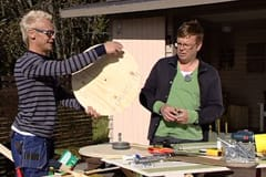 Jim, Johan och den runda fanerskivan