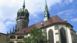 Schlosskirche i Wittenberg