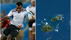 Jerry Tuwai i Fijis lag.