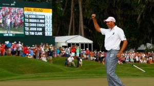 Matt Kuchar etta i The Players Championship 2012.
